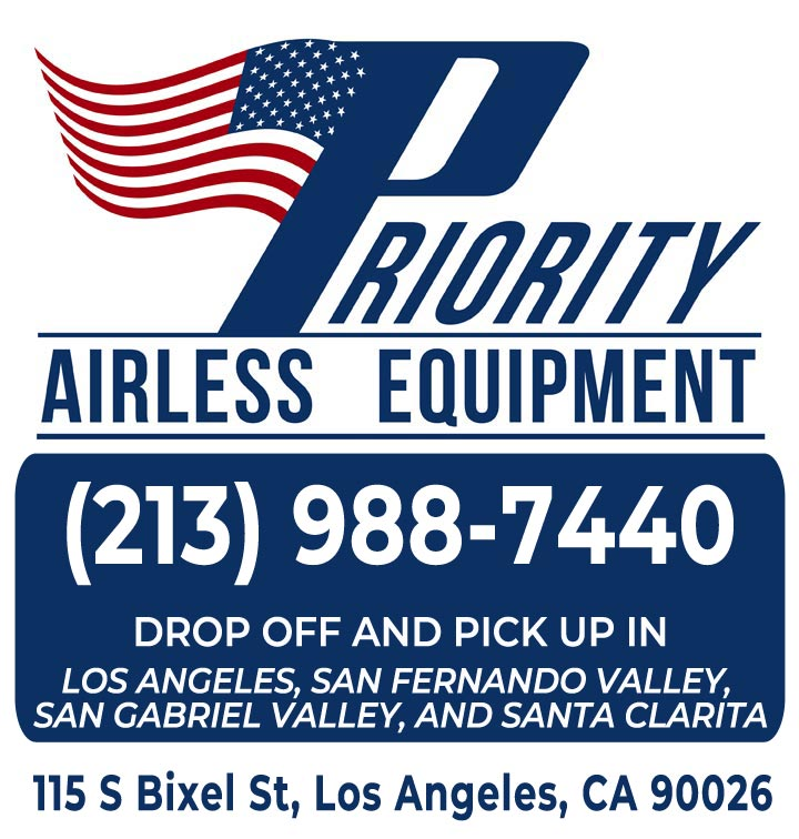 Priority Airless Equipment | Downtown LA | Authorized Graco / Titan Distributor, Rental and Service Center Logo